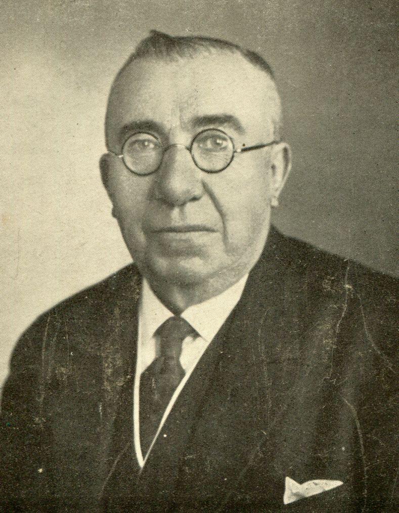 Johannes Heinrich Röhrig, der erste Vorstandsvorsitzende des Altonaer Spar- und Bauvereins