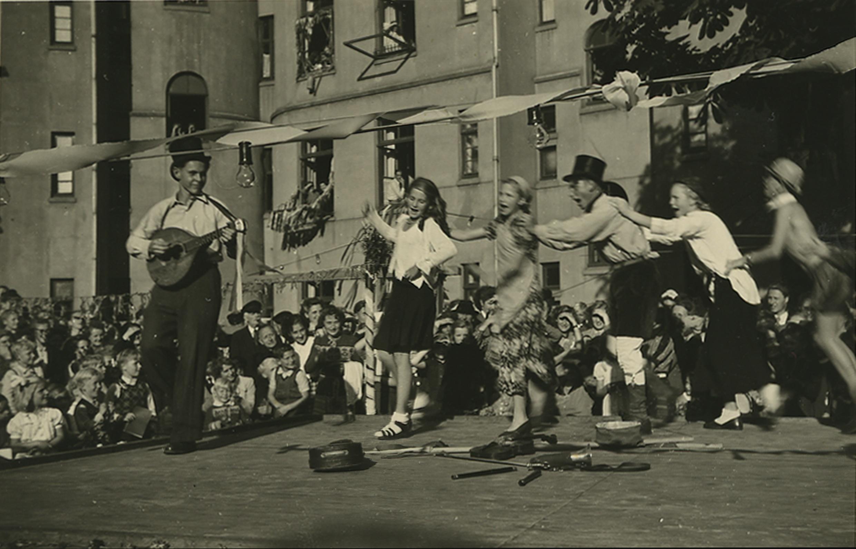 Kinderfest im Gerichtsviertel