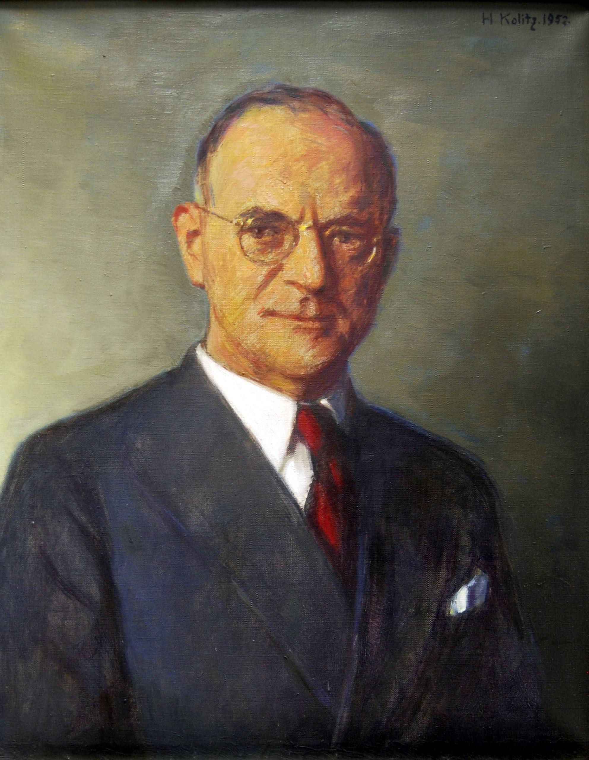 Der Vorstandsvorsitzende Hermann Jeddicke