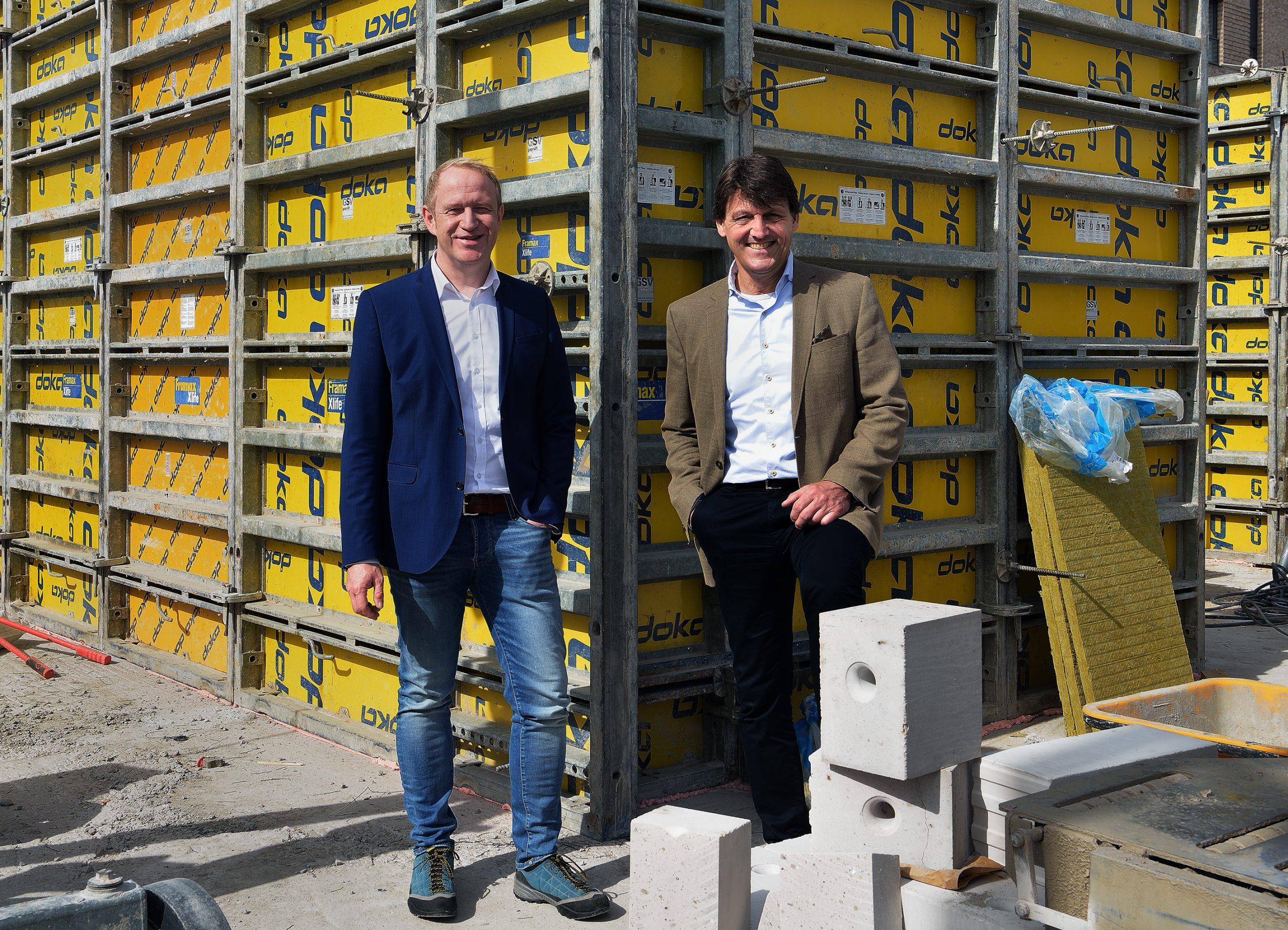 Der Vorstand der altoba: Thomas Kuper (l.) und Burkhard Pawils (© Kristina Wedekind)